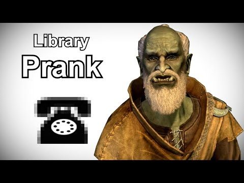 Urag gro-Shub Searches for an Elder Scroll - Skyrim Prank Call