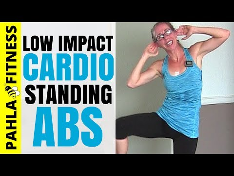 40 Minute LOW IMPACT Cardio + Standing ABS | Full Length, Full Body Home Workout without Jumping