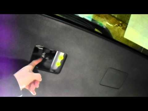 Toyota Corolla Licence Plate Number Plate Bulb Change
