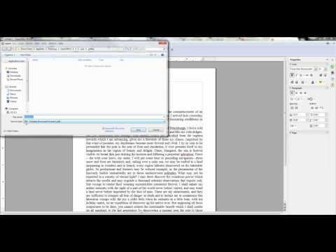 ODT to PDF