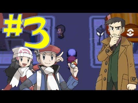 Pokémon Platinum #3: Looking in Jubilife City