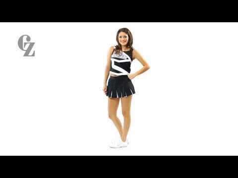 Cheerleader Uniform Top & Skirt | CF1212 CF2045