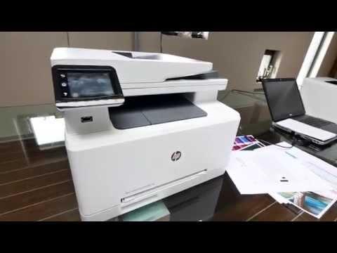 HP Color LaserJet Pro MFP M277 Hands On [4K UHD]