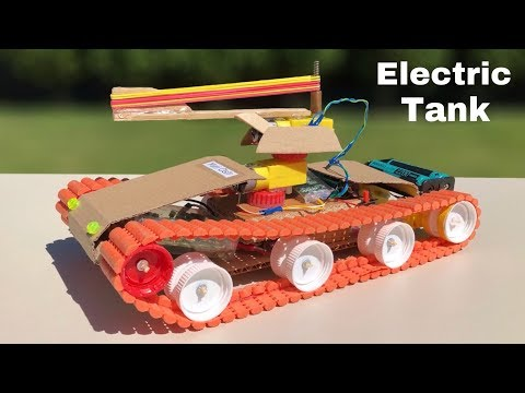 How to Make Amazing RC Tank That Shoots