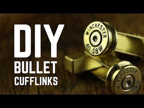 DIY Projects - Bullet cufflinks