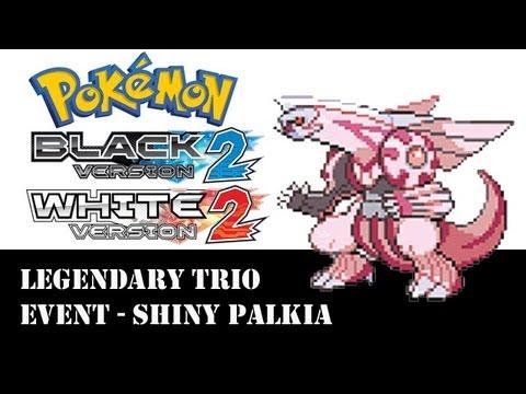 Pokemon Black & White 2 Legendary Trio Event - Shiny Palkia