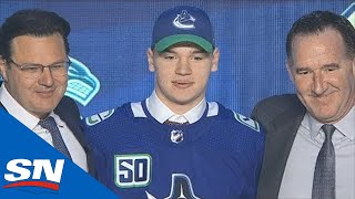 Vancouver Canucks Select Vasily Podkolzin With The 10th Overall Pick In 2019 NHL Draft