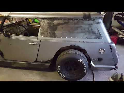 54 jeep ratrod