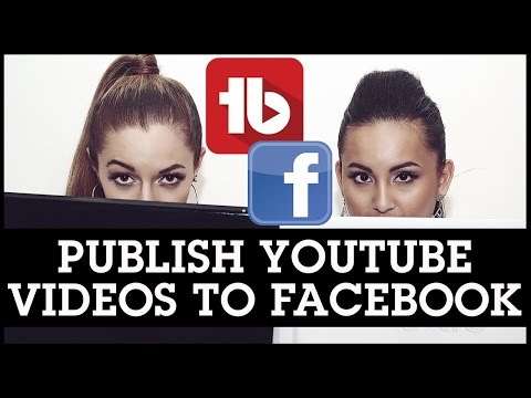 How To Publish YouTube Videos to Facebook Using Tubebuddy