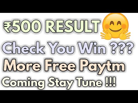 ₹500 Paytm Giveaway Results 🤑