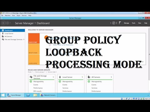 MCSA 19 Group Policy Loopback Processing Mode