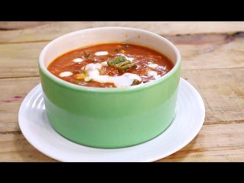 Tomato Capsicum Masala   Simple Vegetarian Khana With Chef Saurabh   Sanjeev Kapoor Khazana