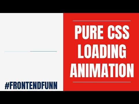 html css javascript - Material Design Progress Bar Animation Tutorial