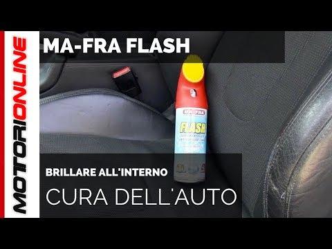 MA-FRA FLASH | Test di pulizia dei sedili