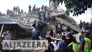 More than 100 dead as 7.1 earthquake rocks Mexico