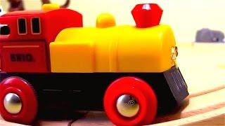 Trenes - Tractores infantiles - Animales domesticos para niños - Trenes para niños en español