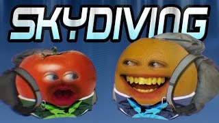 Annoying Orange - SKYDIVING!