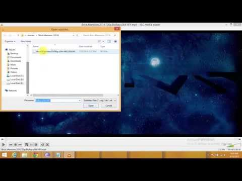 HOW TO DOWNLOAD SUBTITLES FOR MOVIES AND PLAY IT USING VLC MEDIA PLAYER...