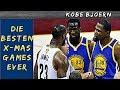 Die besten NBA Christmas Games überhaupt - Kobe Bjoern