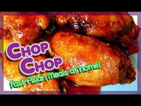 Chicken Recipe : Honey Sriracha Chicken Wings : (How to) Cook Chicken : Seonkyoung Longest (Seon)