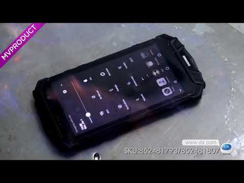 DX:DOOGEE S60 IP68 Waterproof 4G Phone w/ 6GB RAM, 64GB ROM - Black