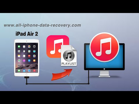 How to Sync Music from iPad Air 2 to iTunes, Transfer iPad Air 2 Playlist to iTunes