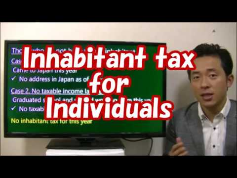 #041 Inhabitant Tax for Individuals  - How to file Income Tax Return