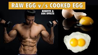 Raw Egg v/s Cooked Egg - Which one is more Healthy | info by Guru Mann