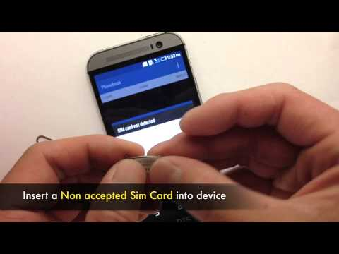 Unlock HTC One M8 - How to Sim Unlock HTC One M8 Network to work on other Carriers