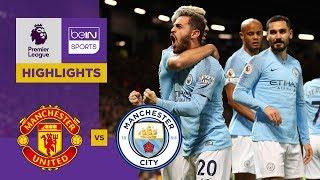 Manchester United 0-2 Manchester City Match Highlights