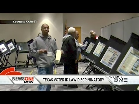 Texas Voter ID Law Ruled 'Intentionally' Discriminatory