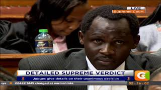 Detailed supreme verdict