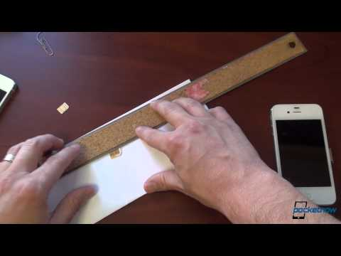 How to Cut microSIM to nanoSIM