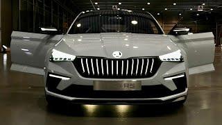 Skoda Vision RS | Al volante della Concept Car che anticipa la seg. C SCALA