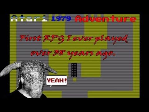 Adventure (first RPG I ever played) Atari 1979