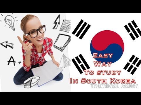 Easy way to go study in South Korea.?? Scholarship?tuition fee free?;:!