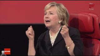 hillary on trump paris pullout really stupid totally incomprehensible incredibly foolish