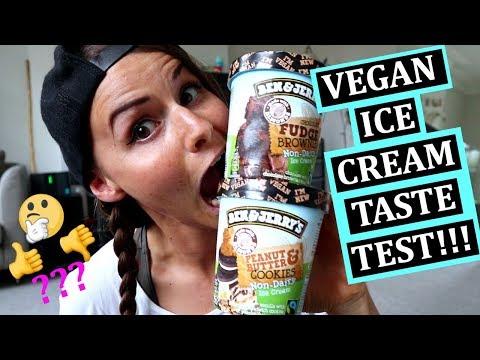 VEGAN BEN & JERRY'S TASTE TEST + REVIEW!!! (UK)