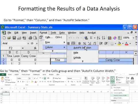 Installing Data Analysis 2013