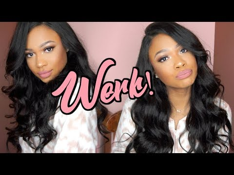 HOW I SLAY MY WIG! Holiday Style | WowEbony