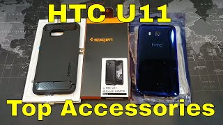 HTC U11 - My favorite cases and screen protectors so far.