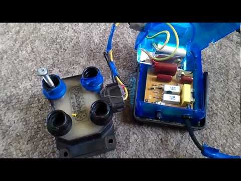 Strobe light ignition system for potato cannon