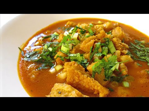Menudo - Authentic Hominy and Beef Tripe Soup Recipe - PoorMansGourmet