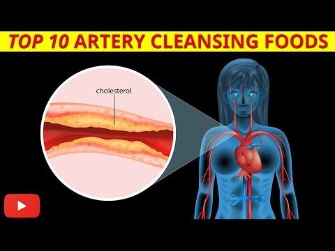 ►Top 10 Artery Cleansing Foods [Clinically Proven]