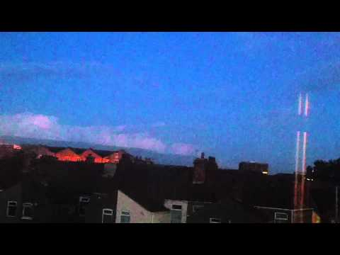 Thunderstorm Over Grimsby Town 20/06/2015