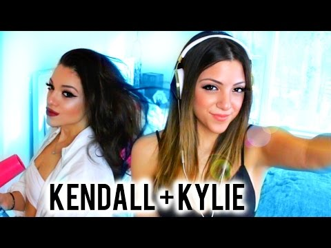 Kendall and Kylie Jenner Get the Look | Hair, Makeup + Outfits!