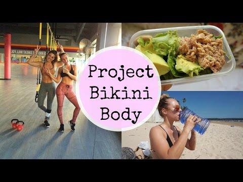 Project Bikini Body | Fat Burning Workout + Full Day Of Eating
