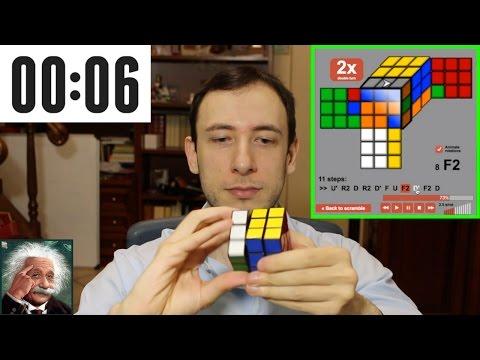 CUBO DI RUBIK - Soluzione 3x3x3 in 1 Minuto    Tutorial Online Completo in Italiano