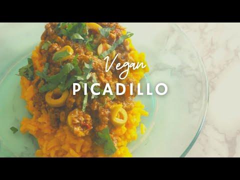 Vegan Puerto Rican Picadillo | Gluten-free| Korenn Rachelle