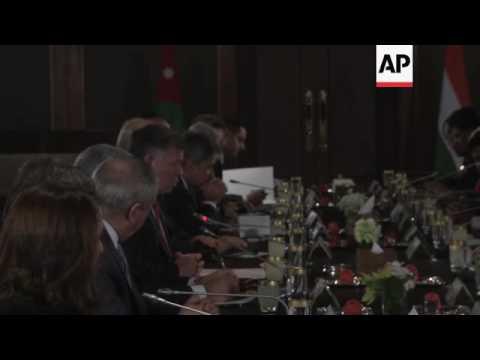 Indian president meets Jordan's King